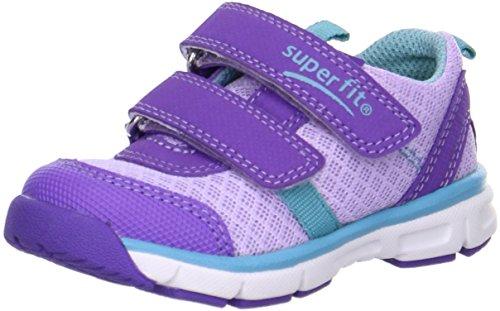 Superfit bambini Velcro scarpe Lumis Mini 4-00061-77 lila kombi Lila Kombi