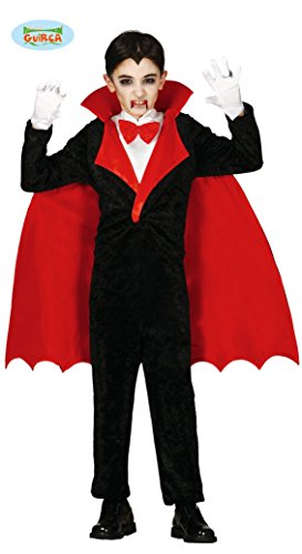 Kinder Vampir Kostüm Gr. 98-146, Größe:110/116