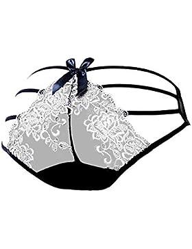 Bragas transparentes del vendaje de las mujeres atractivas Bajo ropa interior de los escritos de las se?oras del...