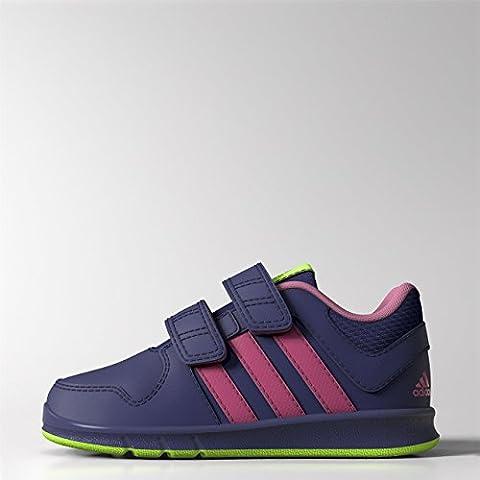 Adidas - Adidas LK Trainer 6 CF I Zapatos Deportivos Niña Violeta Cuero M20050