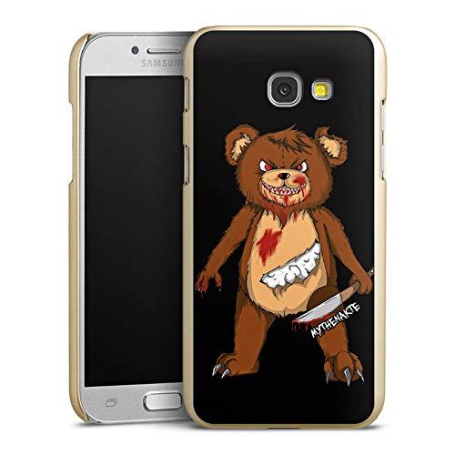 mpatibel mit Samsung Galaxy A5 (2017) Handyhülle Case Halloween Horror Mythenakte ()