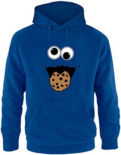EZYshirt® Cookie Monster Herren Hoodie | Herren Kapuzenpullover | Herren Pullover