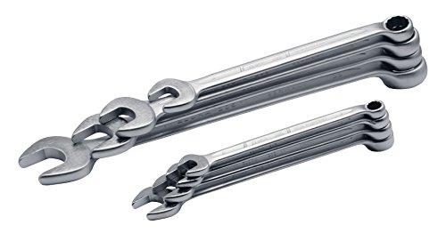 Preisvergleich Produktbild Elora Ringmaulschlüssel-Satz DIN 3113, Form B, 18-teilig 8 - 34 mm, 205S 18M