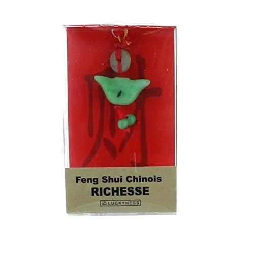 Porte-bonheur feng-shui jade grande richesse