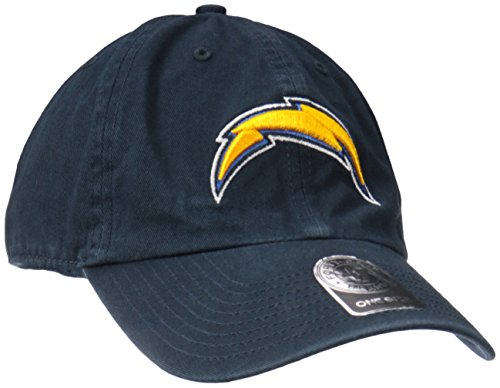san-diego-chargers-47-brand-nfl-navy-clean-up-adjustable-hat-chapeau