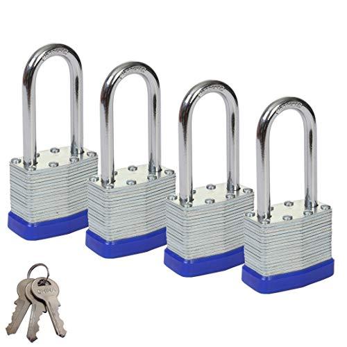 sepox 40mm Seguridad Candado laminado impermeable llave candados con