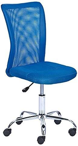 Links 99803154 Schreibtischstuhl für Kinder höhenverstellbar, Metallfuß Mesh PU, 43