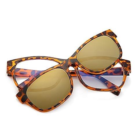 CVOO TR90 Myopia Lens Magnet Adsorption Polarized Sunglasses Colorful Clip Sun Glasses Frames
