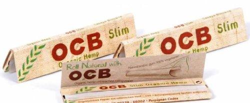 OCB Slim per sigarette di canapa biologico comfyzone - 3 confezioni da Trendz