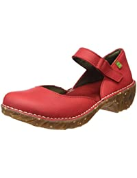 El Naturalista Ng50 Soft Grain Yggdrasil, Zapatos de Tacón con Punta Cerrada para Mujer