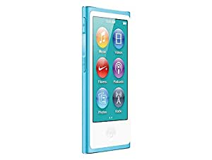 Apple iPod Nano 16GB  (7. Generation) blau
