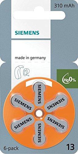 siemens-piles-auditives-zinc-air-taille-13-orange-60-cellules
