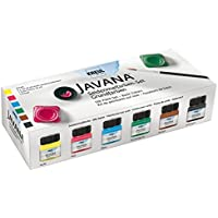 Javana KREUL 81600–Seda veces Colores 6x 20ml, colores primarios