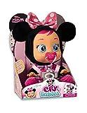 IMC Toys 97865 Minnie - Muñeca Bebés Llorones, Multicolor