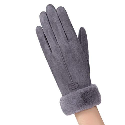OSYARD Damen Winter Handschuhe Strickhandschuhe Stilvolle Fäustlinge Kreative Smartphone Touchscreen Wollhandschuhe Winterhandschuhe, Mode Winter Outdoor Sport Warme Handschuhe für Frauen Mädchen