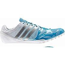 adidas Adizero Prime Accelerator Zapatillas con clavos para correr, azul, 13.5UK