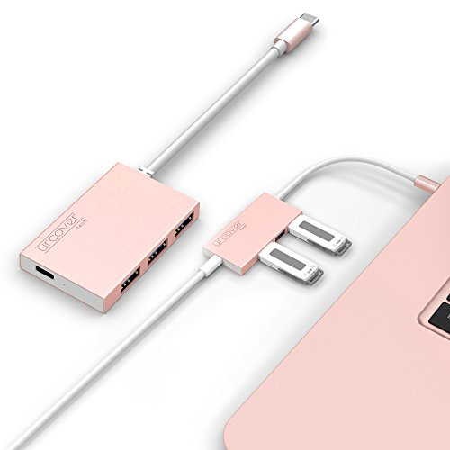 URCOVER® USB Hub 3.1 Typ C Maschio Femmina con 3