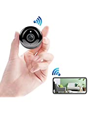 ENEM WQ11 Mini WiFi IP Wireless Hidden Spy Camera, Small Size, Cloud Based Storage, Night Vision, Motion Detection, Two Way Communication, Supports upto 32 GB Micro SD card, Remote View from Anywhere(No Battery)