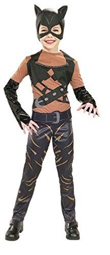 Catwoman?-Kostüm für Mädchen - 8-10 Jahre