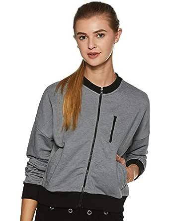 Amazon Brand - Symbol Women's Sweatshirt (AW18WNSSW19A_Mid Grey Mel_X-Small)