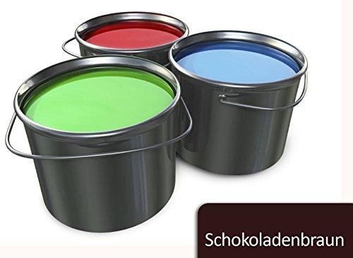 Betonfarbe Bodenfarbe seidenmatt innen außen | BEKATEQ BE-700 Bodenbeschichtung Garagenbodenfarbe Sockelfarbe Bodenversiegelung (1L, Braun)