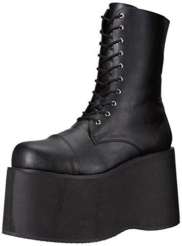 Funtasma Herren Monster-10 Klassische Stiefel, Schwarz (Blk PU), 46 EU (Herstellergröße:XL) (Halloween-kostüm-clearance)