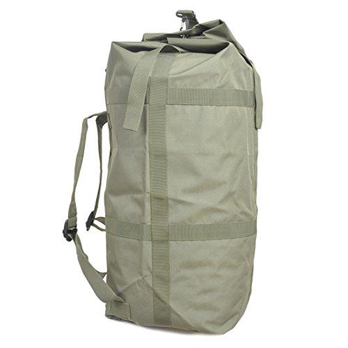 LF&F Backpack Camping outdoor Zaini Borse Zaino tattico di camuffamento ad alta capacità da 70 litri alpinismo ciclismo zaino da camuffamento viaggio sportivo Oxford impermeabile solido e resistente z D