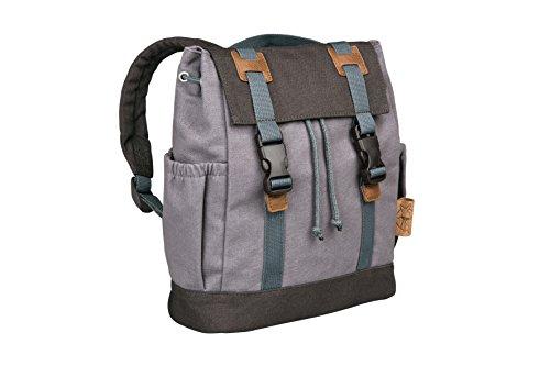 Preisvergleich Produktbild Lässig Vintage Little One und Me Backpack, klein Kinderrucksack Kindergartentasche, grey
