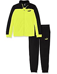 Puma–Chándal para niños Style Suit B, infantil, Style Suit B, nrgy yellow-puma black, 128