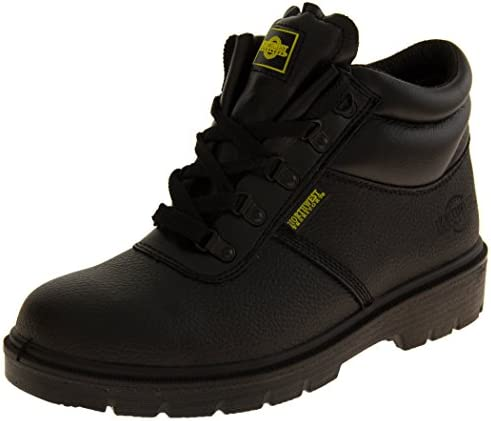 Footwear Studio Northwest Territory Hombres de Alberta – Botas de seguridad resistente al aceite en ISO 20345
