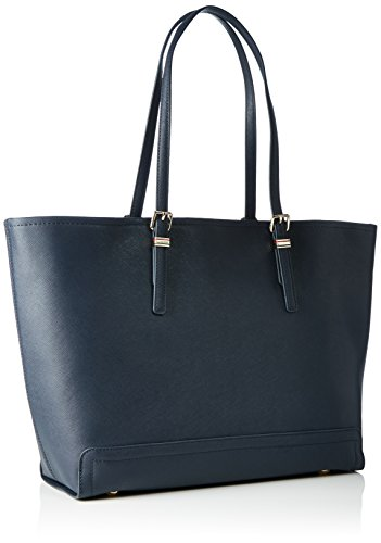 Tommy Hilfiger Honey Ew Tote Solid, Cabas Bleu (Tommy Navy)