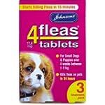 Johnsons Vet 4fleas Tablets for Puppi...