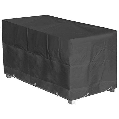 GREEN CLUB Housse de protection pour table de jardin 180x112x65cm - Anthracite