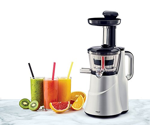Eveready LIIS 150-Watt Slow Juicer (Silver)
