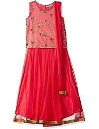 Karigari by Unlimited Girls' A-Line Regular Fit Salwar Suit Set (400017789613)