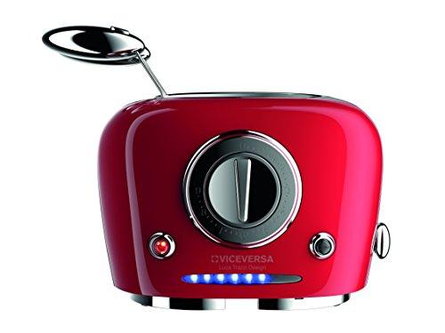 Vice Versa Design-Toaster,TIX Sandwichtoaster,Toaster, Farbe rot
