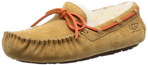 UGG Dakota Col Damenschuhe, mit Sohle für Draußen, Beige - Rosa (Tawny) - Größe: 35.5 (Stiefel Rosa Ugg Australia)