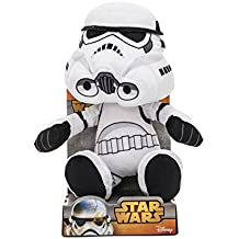 Star Wars - Trooper Storm en Steam Velboa felpa, 25 cm de displaybox - Peluche Stormtrooper 25 cm
