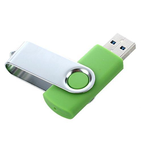 TOOGOO(R)USB 3.0 Memory Stick faltbares Flash Laufwerk Memory Stick Speicher mit drehbarem Clip 32GB – Gruen - 5