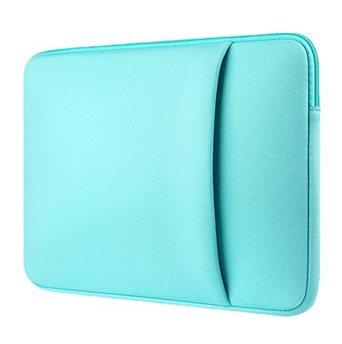 YiJee Sleeve per Laptop Impermeabile Custodia di Borsa per Portatile Caso Protettiva 15.6 Pollice Verde 1