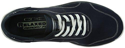 Skechers SuperiorPlame Herren Sneakers Blau (Nvy)
