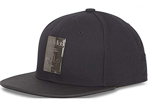 adidas Originals Superstar Metallic Badge Snapback Baseball Hat Cap -  CV8150 Black Silver 5e68dd0a6ba