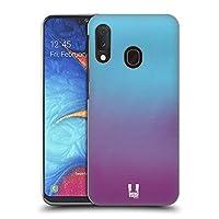 Head Case Designs Galaxy Ombre Hard Back Case Compatible for Samsung Galaxy A20e (2019)