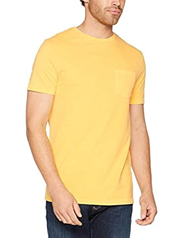 Celio Gepocket, T-Shirt Homme, Jaune (Yellow Cab), Medium (Taille Fabricant: M)
