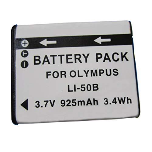 Amsahr Digitalkamera und Camcorder-Akku für Olympus LI-50B, Pentax D-LI92