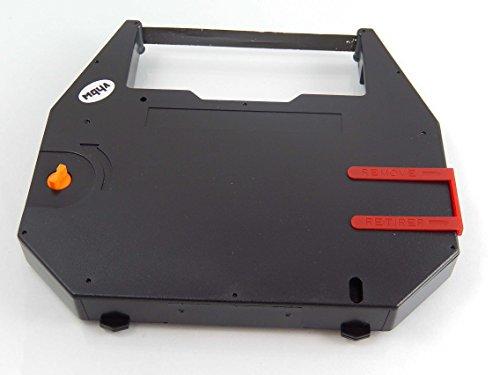 Preisvergleich Produktbild vhbw Farbband Nylonband Tintenband für Nadeldrucker, Schreibmaschine Olympia Carrera de Luxe wie 186c1.