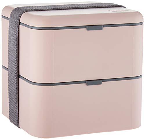 Monbento mb 683371bento box pasto quadrata plastica rosa 14,2x 14,2x 14,2cm