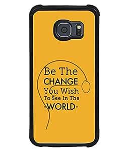 PrintVisa Designer Back Case Cover for Samsung Galaxy S6 G920I :: Samsung Galaxy S6 G9200 G9208 G9208/Ss G9209 G920A G920F G920Fd G920S G920T (Inspiration Motivational Self Esteem Affirmation Voice Concept Beautiful Newest)