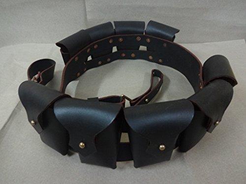 1903 Muster Leder Nine Tasche Bandolier für Jawa -