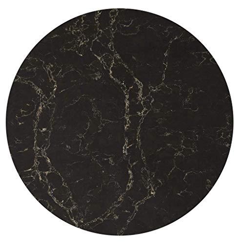 Caesarstone Runder Steinplatte Vanilla Noir 5100 rund 40cm x 2cm Stärke/Bistrotische / Gartentisch/Gastronomie